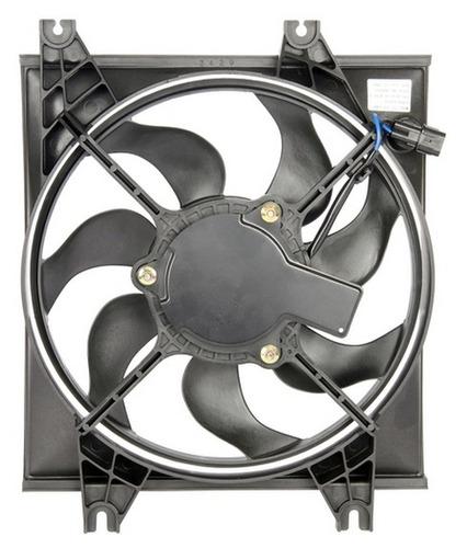 ventilador de condensador hyundai accent 2000 - 2006 nuevo!!