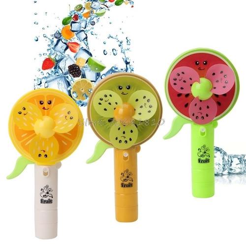 ventilador de mano frutas