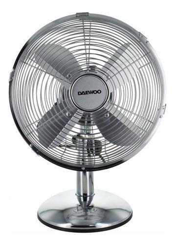ventilador de mesa daewoo 25cm extra silencioso 3 vel turbo