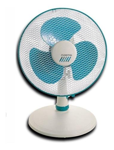 ventilador de mesa punktal m30 amplia rotación 3 velocidades