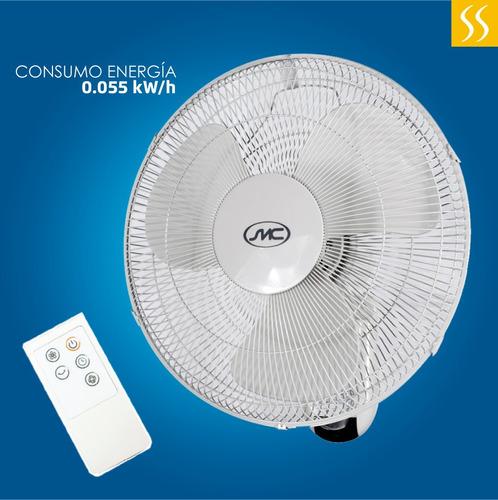 ventilador de pared smc 16 /40cm control remoto
