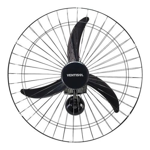 ventilador de parede 50cm new grade preto escolher voltagem