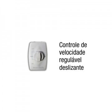 ventilador de parede 60cm branco grade metal ventisol 220v