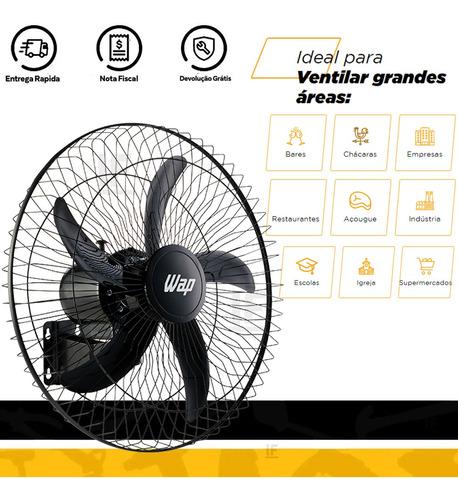 ventilador de parede wap pro 60 bivolt