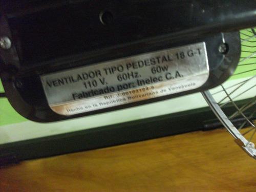 ventilador de pedestal taurus de 18 usado tienda virtual