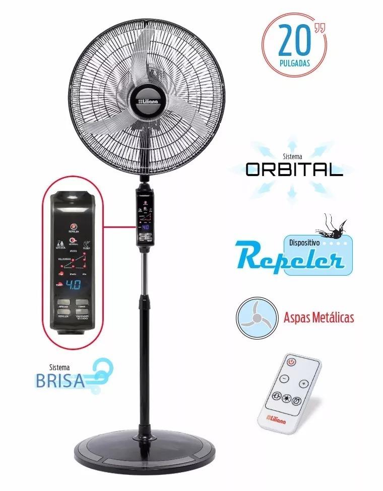 Ventilador De Pie 20 Liliana Vpd20r Orbital Control Remoto