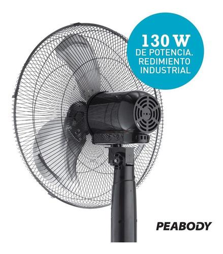 ventilador de pie digital 20 pulgadas peabody pe-vp350