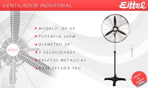 ventilador de pie industrial eiffel de 28  nuevo garantía