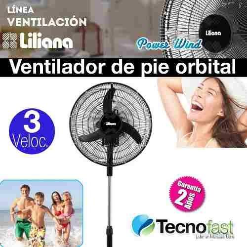 ventilador de pie liliana 18 orbital repelente de insectos
