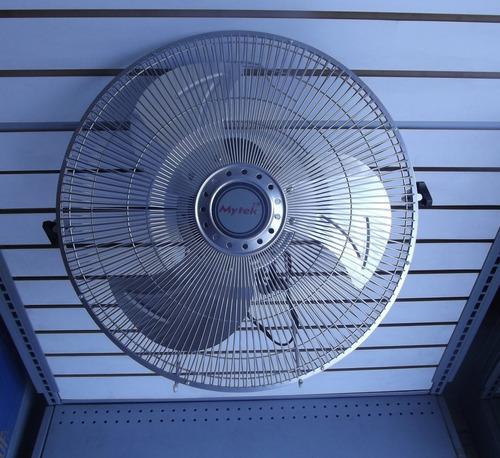 ventilador de piso 16 pulgadas mytek 3347 metalico 2 en 1