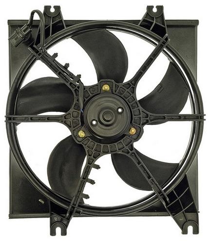 ventilador de radiador hyundai accent 2000 - 2005 nuevo!!!