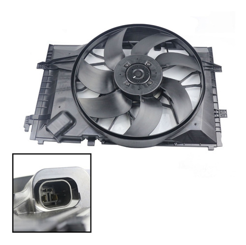 ventilador de radiador mercedes benz c230 2002 - 2007