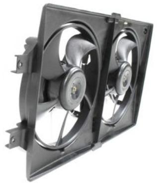 ventilador de radiador y a / a chrysler lhs 1999 - 2001