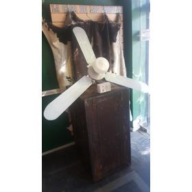 Ventilador De Techo Blanco Con Luz Diametro 140