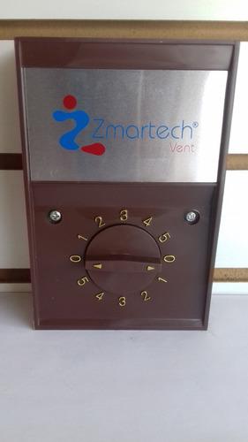 ventilador de techo color chocolate industrial zmartech