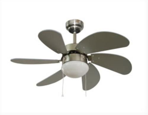 ventilador de techo cuori 6 aspas 30 mdf 50w oferta nnet