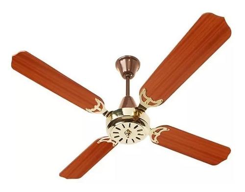 ventilador de techo de madera 5 años garantia 546