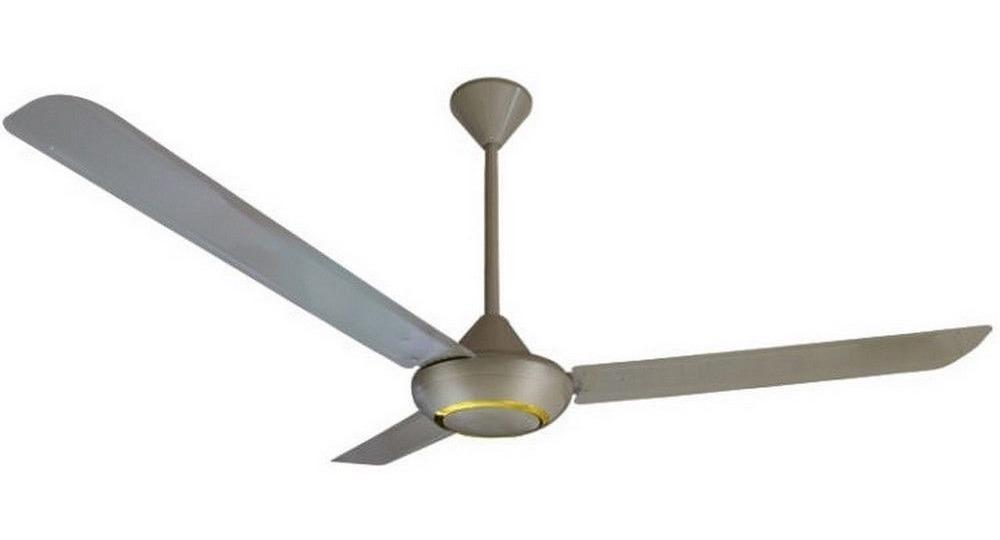 Ventilador de techo barra de extensi/ón cromo cepillado