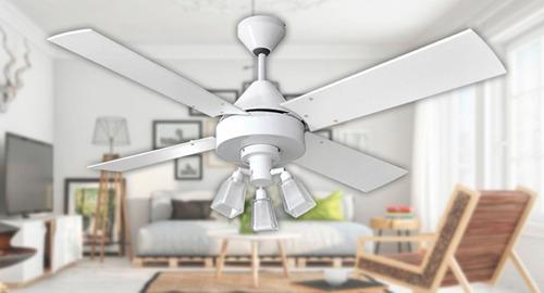 ventilador de techo martin argos blanco ilum cubetto g9 led