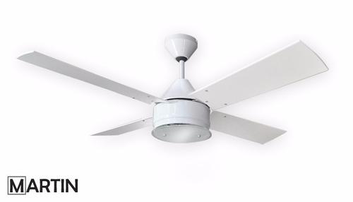 ventilador de techo martin argos blanco plafon smart g9 led