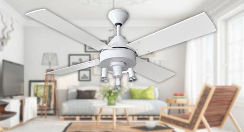 ventilador de techo martin argos blanco potenciado ilum led