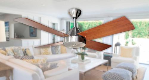 ventilador de techo martin argos platil - motor potenciado