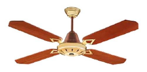 ventilador de techo super clima paletas madera vtx141