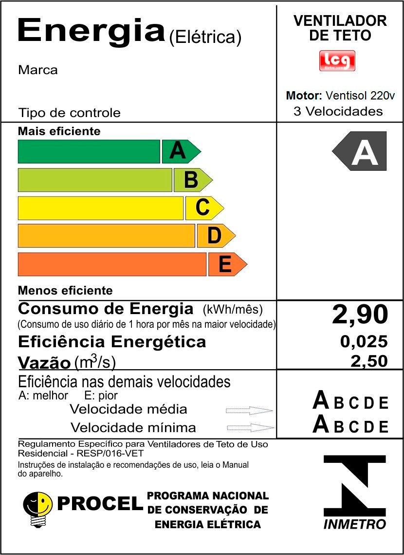 Ventilador De Teto Delta Smart Lustre De Vidro P  2 Lâmpadas - R ... 94754791d1198