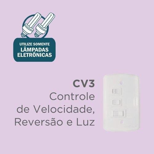 ventilador de teto fênix 127v - ventisol