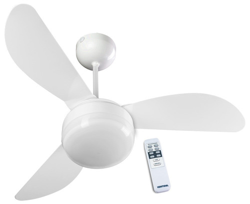 ventilador de teto fênix com controle remoto - ventisol
