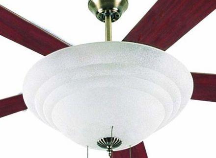 ventilador de teto homeline 5 pas 110v plafon p/ 3 lampadas