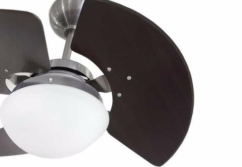 ventilador de teto tron aventador aço escovado- melhor preço