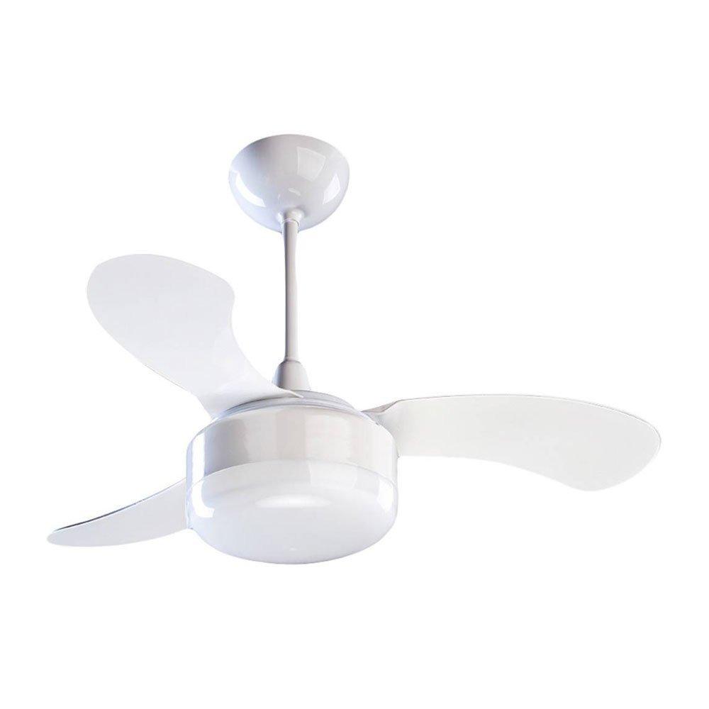 40cc60df1 Ventilador De Teto Ventisol Petit Branco 3 Pás - R  213