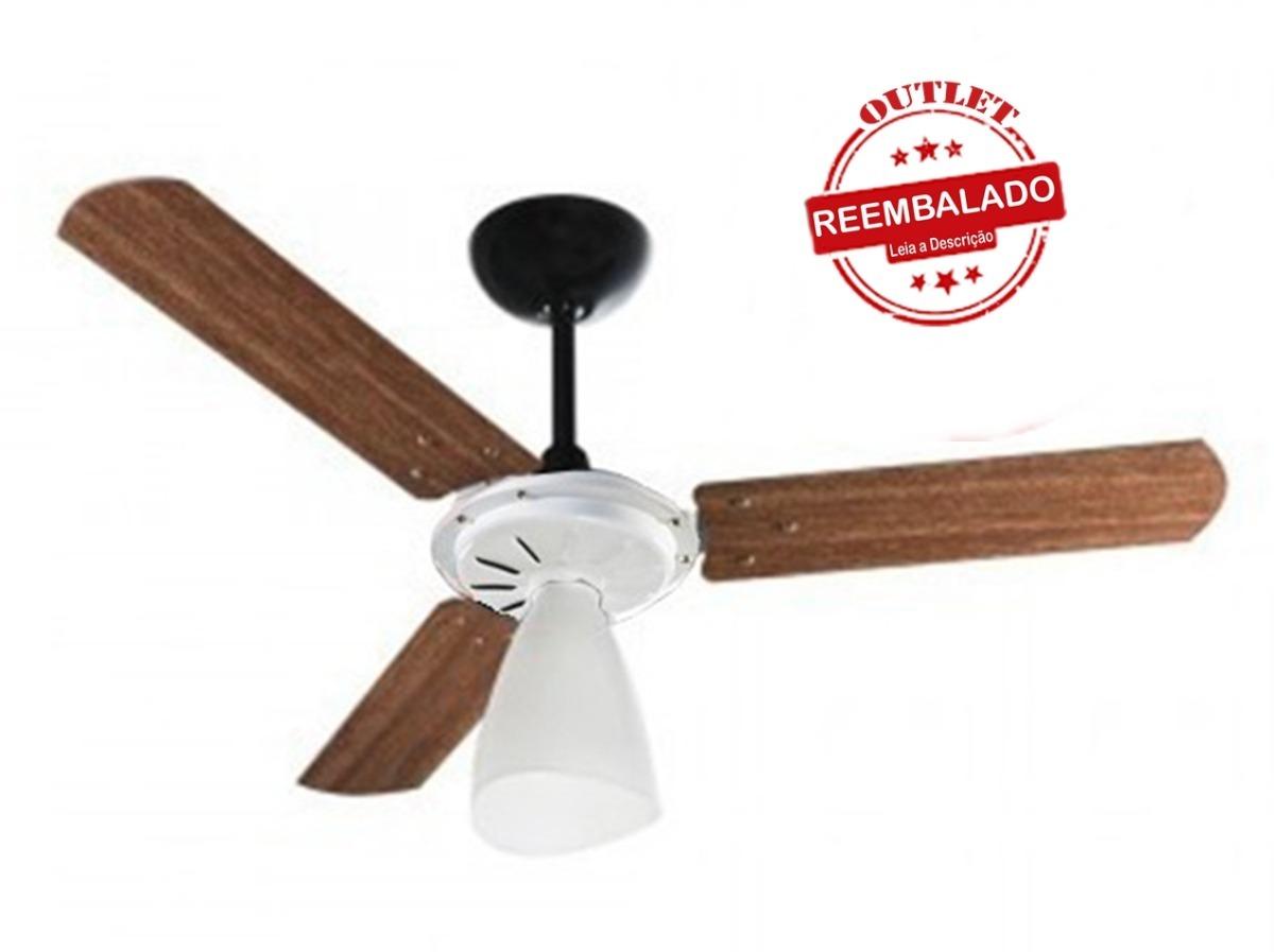 09fa5c6a2 Ventilador De Teto Ventisol Wind Light 3 Pás 220v - R  159