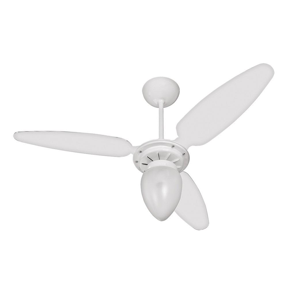 5c53dc694 ventilador de teto ventisol wind light com lustre 3 pás bco. Carregando  zoom.