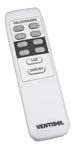 ventilador de teto - vortice - branco - 127v - ventisol