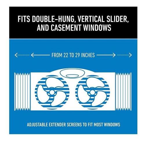 ventilador de ventana holmes (abanico)