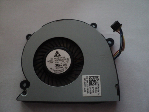 ventilador dell latitude 6430u impecable p/n yh18x