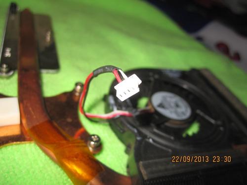 ventilador disipador para samsung rv410