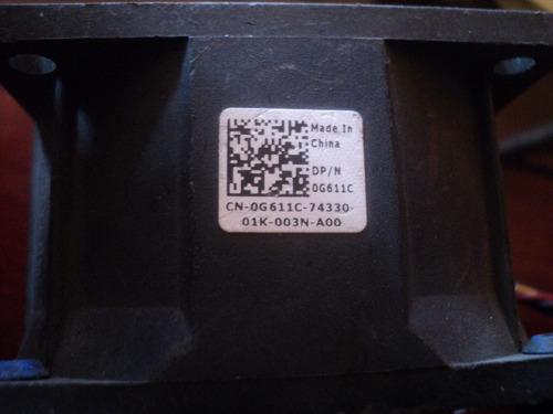 ventilador doble dell precision r5400