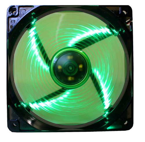 ventilador eagle warrior 120mm verde retroiluminado