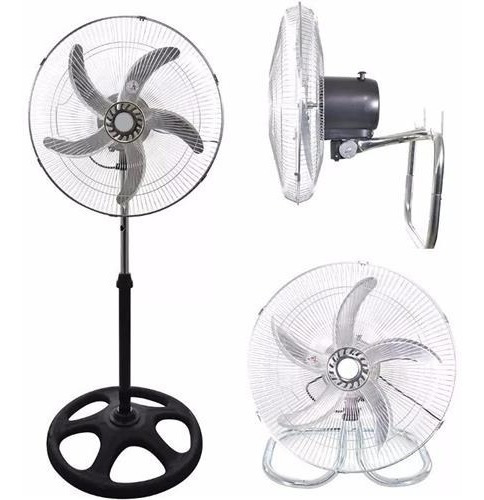 ventilador embassy 3 en 1 pie pared piso turbo 18´´