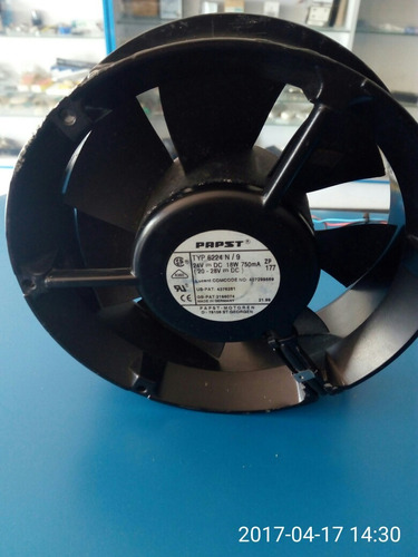 ventilador extractor 24v 6  pulgada