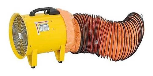 ventilador / extractor industrial portatil de30 cm-370 watt