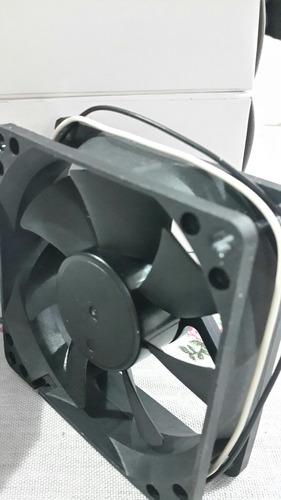 ventilador fan cooler 24 volt cc 130ma 80x80x250 mm