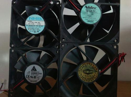 ventilador fan cooler de 12v 8x8 y 9x9