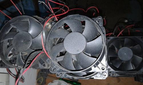 ventilador fan cooler interno para gabinetes fuentes 12v