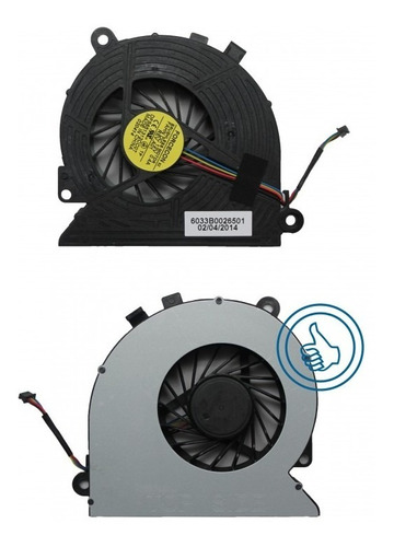 ventilador hp 18 all in one 18-1000 18-1200cx 12v 0.4a