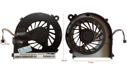 ventilador hp cq42 cq 56 cq62 g42 g62 cq72 envio gratis