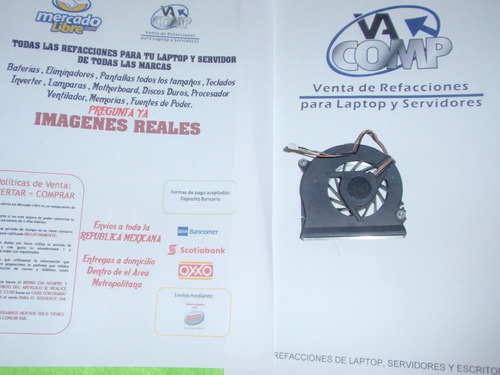ventilador hp xw8200 379800-001  378233-001 nc nx series